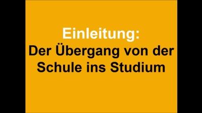 Einleitung/Schule-Studium
