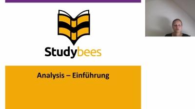 Einführung Analysis