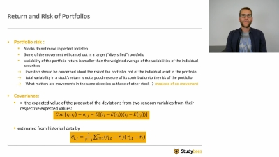 Risk & Return: Portfolios