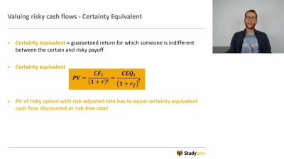 Certainty Equivalent & Decision Trees