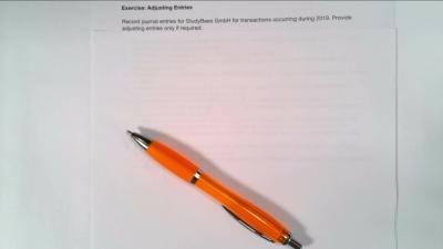 Excercise Adjusting Entries