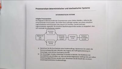 Aufgabe Deterministische Systeme