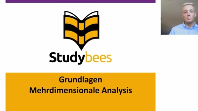 Grundlagen mehrdimensionale Analysis