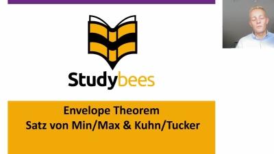 Envelope Theorem, Satz von Min & Max, Satz von Kuhn & Tucker
