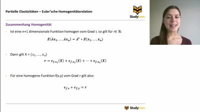 Eulersche Homogenitätsrelation