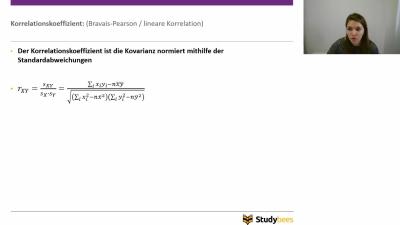 Korrelationskoeffizient Bravais Pearson