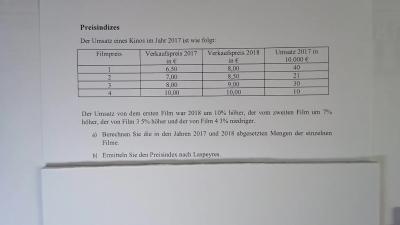 Aufgabe Index