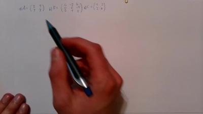 Aufgabe Lineare Algebra - Inverse Matrix