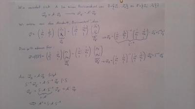 Aufgabe Lineare Algebra - Basiswechsel