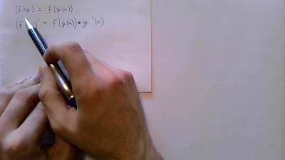 Infinitesimalrechnung - Differentialrechnung Rechenregeln