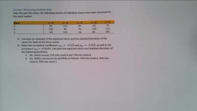 Measuring Portfolio Risk