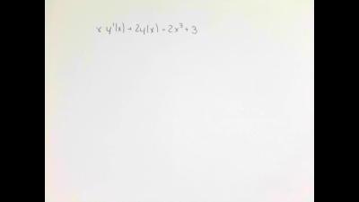 Differentialgleichungen II