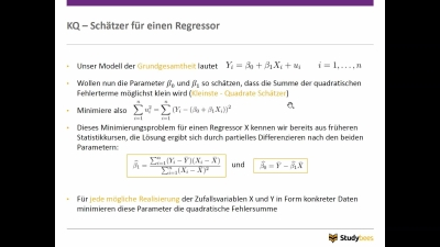 Einfache Lineare Regression II
