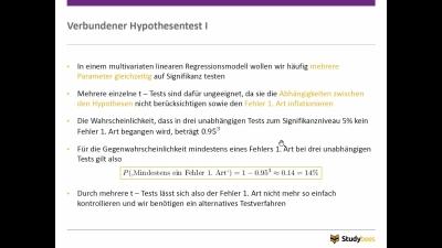 Verbundene Hypothesentests