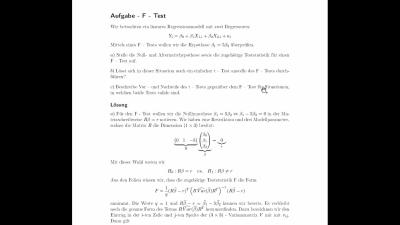 Aufgabe F - Test
